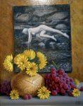 "In full Bloom - 14"" x 11"" - Oil - Jared Sines"