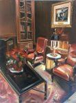 "The Pine Inn IV - 14"" x 11"" - Oil on Canvas - Thalia Stratton"