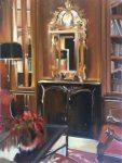 "The Pine Inn I - 14"" x 11"" Oil on Canvas - Thalia Stratton"