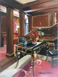 "The Pine Inn V - 14"" x 11"" - Oil on Canvas - Thalia Stratton"