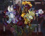 "On the River Lot - 24"" x 30"" - Oil on Canvas - Lyuba Titovets"