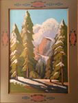 "Melting Snow Yosemite - 54"" x 41"" - Jack Cassinetto"