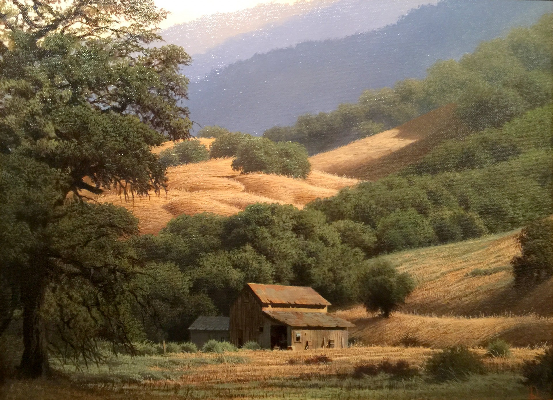 "Chaparral Ranch - 12"" x 16"" - Dean Linsky"