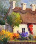 "Cottage Dreams - 24"" x 20"" - Scott Wallis"