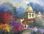 "Scott Wallis | Carmel Mission |24"" x 30"" 