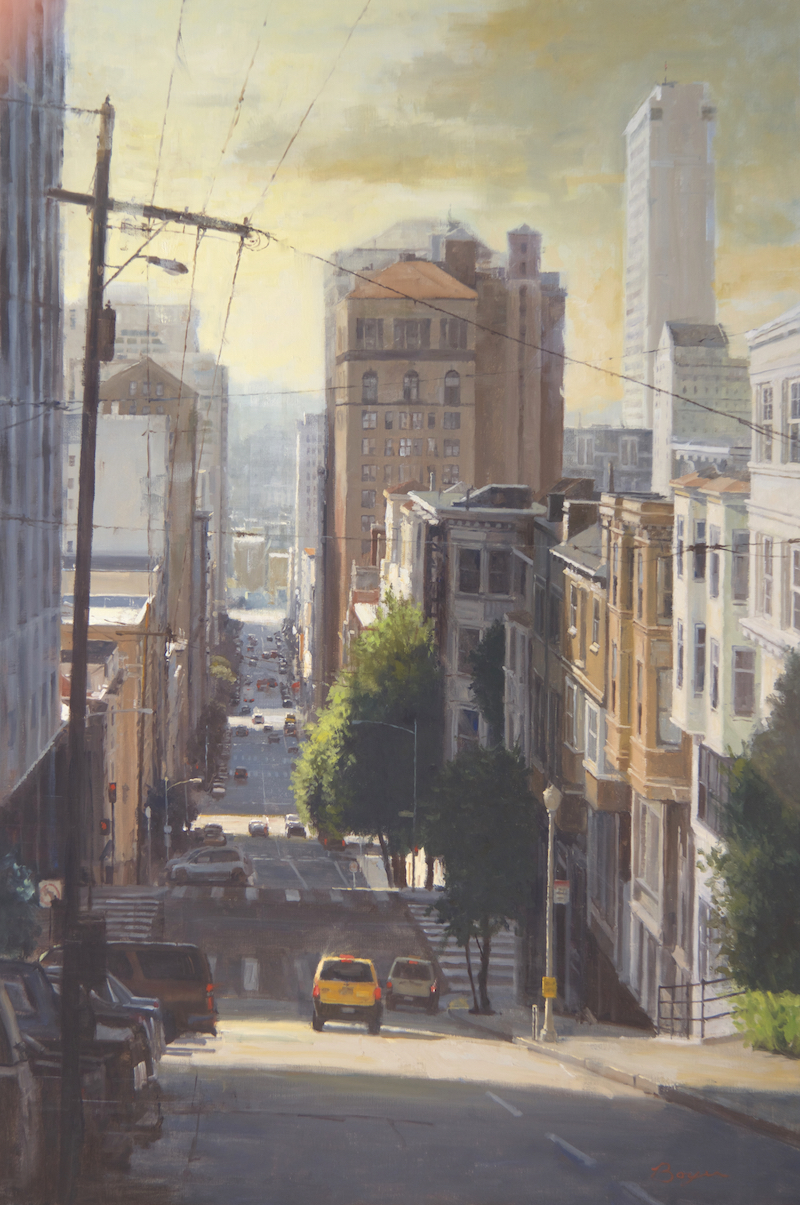 "Hills of San Francisco | 60"" x 40"" 