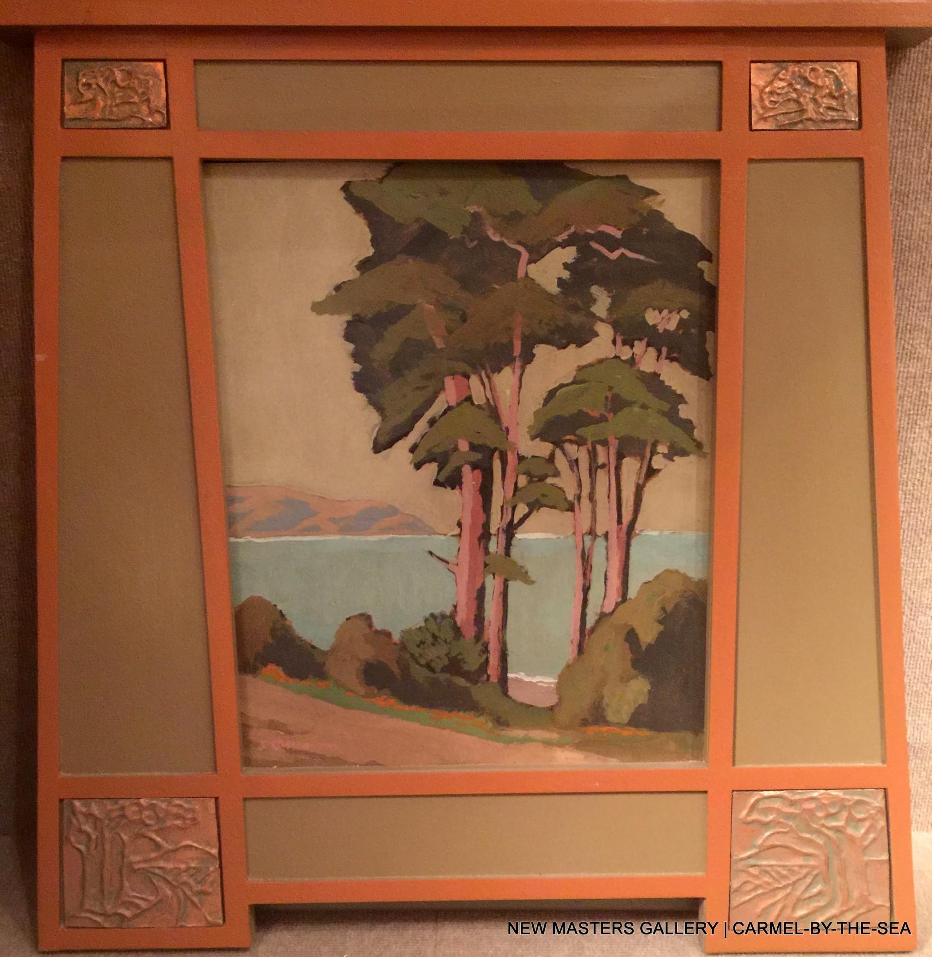 "Cypress San Francisco | 20"" x 16"" | Jack Cassinetto"