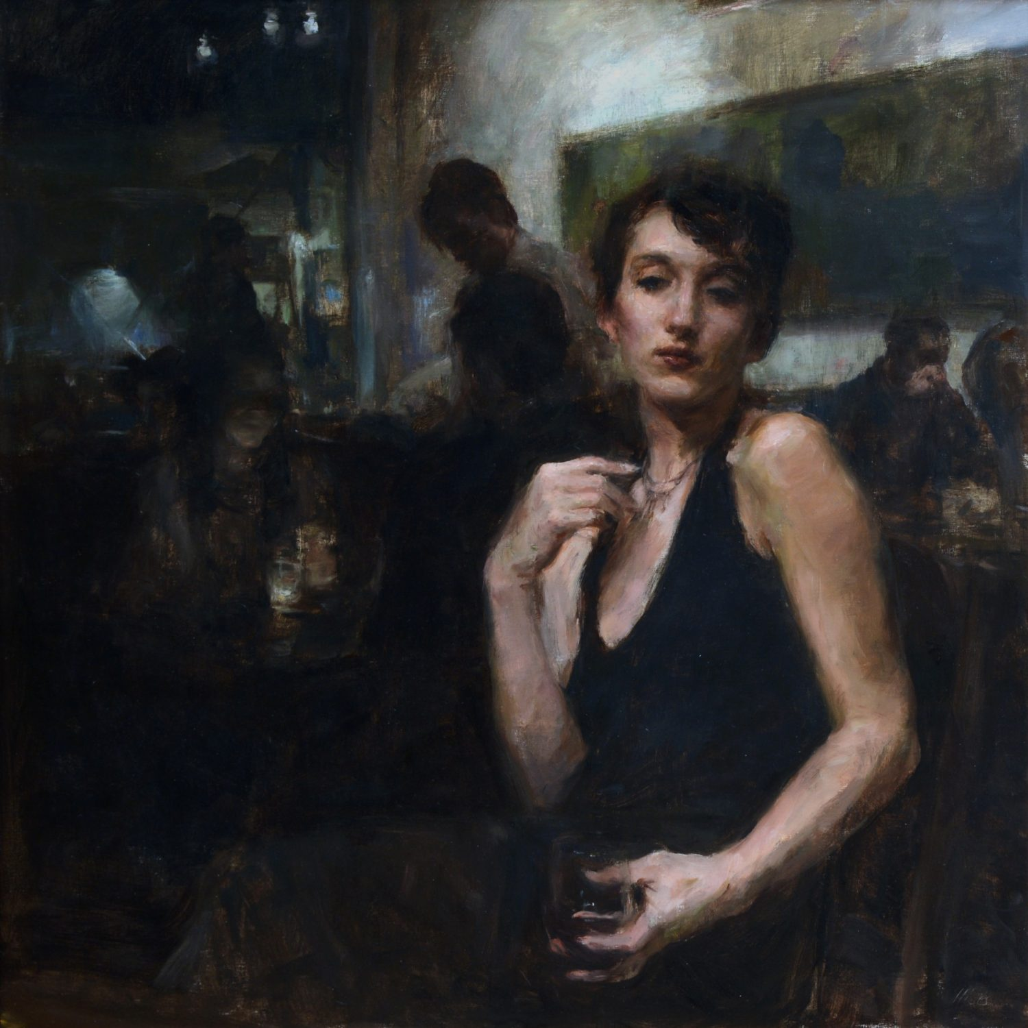 "Side Glance | 30"" x 30"" 