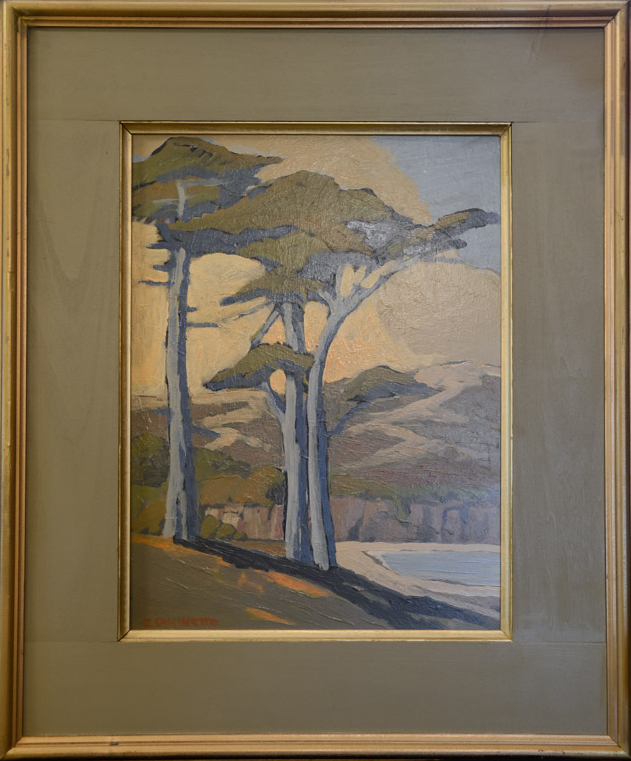 Cypress By the Sea | 24″ x 18″ | Jack Cassinetto