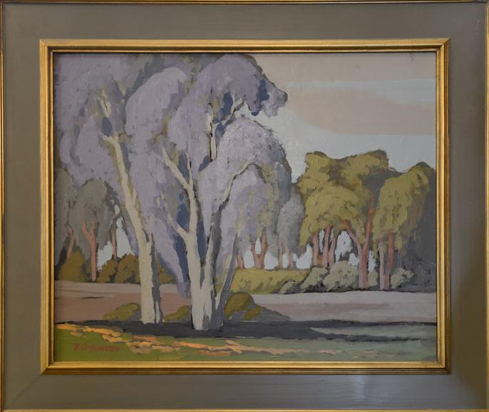Eucalyptus and Oaks | 20″ x 24″ | Jack Cassinetto