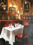 Dining in NY II | 24″ x 18″ | Thalia Stratton