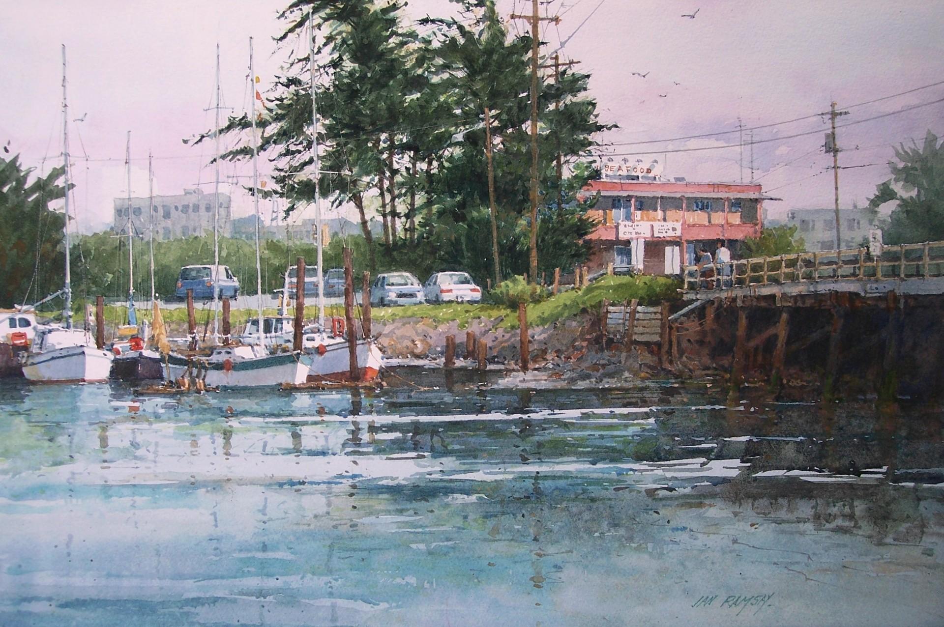 "Moss Landing, California | 14"" x 21"" | Ian Ramsay"