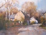 "Village Byway, Gloucestershire, England | 11"" x 15"" 