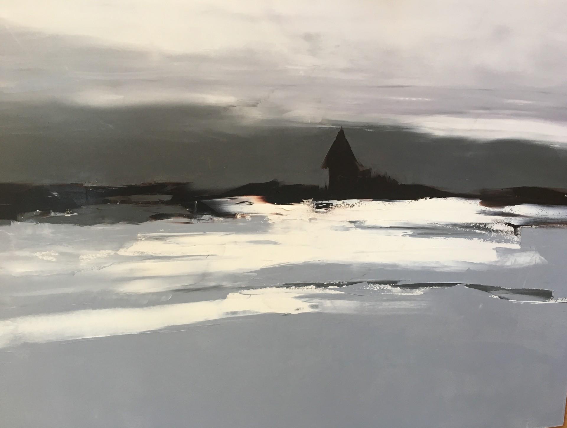 "Stillness | 36"" x 48"" | Sandra Pratt"