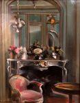 "Salon Chartreuse | 10"" x 8"" | Thalia Stratton"