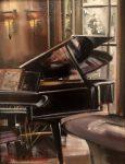 "The Music Room | 10"" x 8"" | Thalia Stratton"