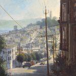 "Filbert Street | 36"" x 36"" | Richard Boyer"
