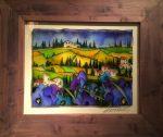 "Toscana y Papaveri Blu | 16"" x 20"" | Massimo Cruciani"