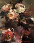 "Evening Bouquet II | 12"" x 9"" | Thalia Stratton"