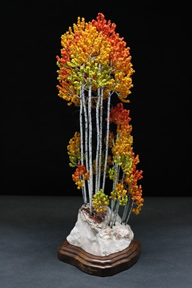 "Aspen Autumn | 23"" x 8"" x 7"" 