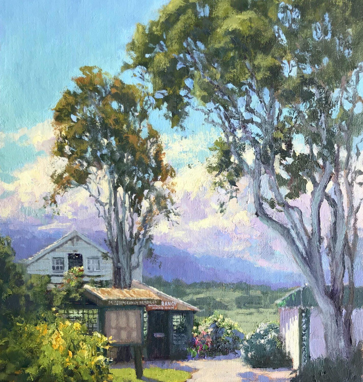 "Mission Ranch View   16"" x 12""   Tatyana Fogarty"