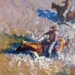 "The Crossing | 30"" x 30"" 