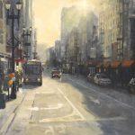"O'Farrell Street | 36"" x 36"" | Richard Boyer"