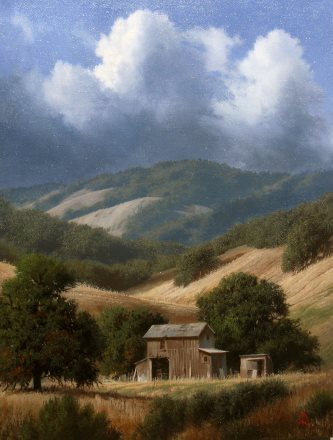 "Foothills Into the Past | 16"" x 12"" 
