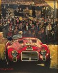 "First Car to War the Ferrari Badge 1947 | 10"" x 8"" 