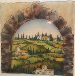 "Arco Toscana | 22"" x 22"" | Massimo Cruciani"
