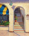 "The Stairs on Dolores | 14"" x 11"" 