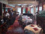 "Lunchtime Lounge | 30 ""x 40"" | Trent Gudmundsen"