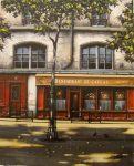 """Restaurant du Caveau   16"""" x 13""""   Thomas Pradzynski"""
