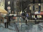 "Rue St Denis | 18"" x 24"" | Philippe Gandiol"