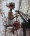 "Afternoon in D Minor | 24"" x 20"" 