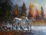 "The Three Graces 18"" x 24"" 