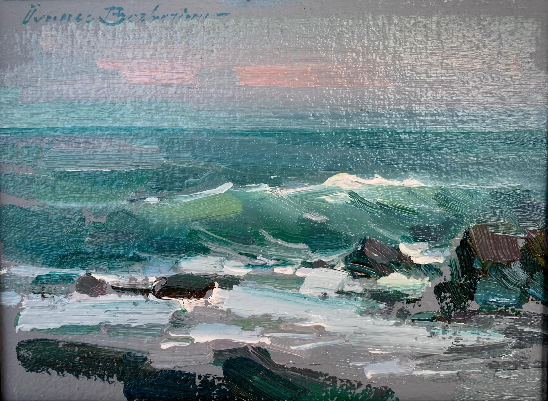 "Incoming Tide | 6"" x 8"" | Ovanes Berberian"