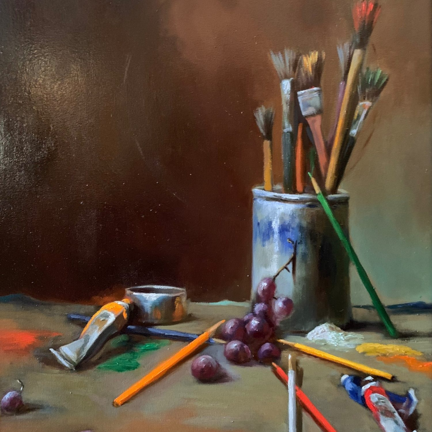 "The Artist's Tools | 24"" x 18"" 