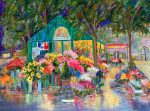 "Place de Terms | 30"" x 40"" | Dorothy Spangler"