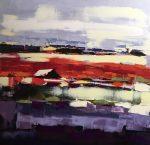 Colorfield | 24x24 | Sandra Pratt | Oil