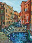 "Venetian Canal #1| 16"" x 12"" | Christine Reimer"