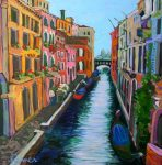 Christine Reimer | Venetian Canal #2 | 30 x30 | acrylic
