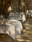 "Dining at the Pigonnet II | 24"" x 18"" 