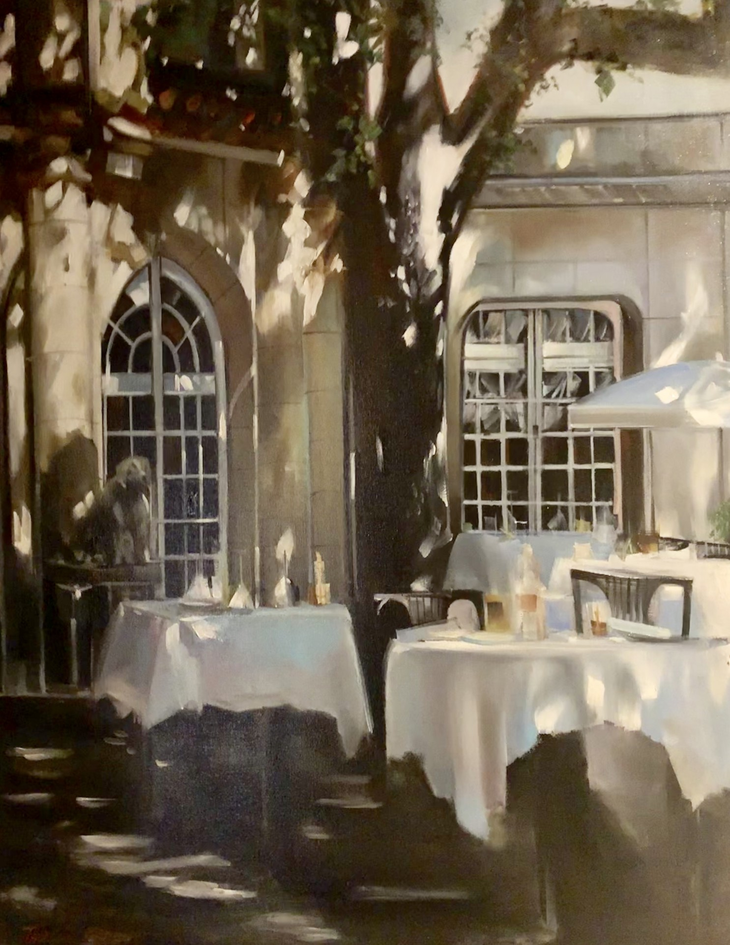 "Lunch in Provence IV | 30"" x 24"" 