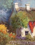 Scott Wallis | Old World Cottage | 20x15 | Oil