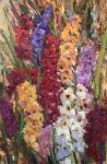 "Gladiolas Supreme | 36"" x 24"" 