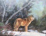 "Winter on the mountain | 16"" x 20"" | Barbara Conley"