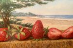 "Sines Strawberries by the Sea | 5"" x 7"" 