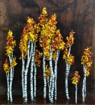 Thomas Tankersley | Aspen Grove | 30x32x9 | Steel Sculpture