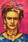 "Frida | 24"" x 18"" | Russ Wagner"
